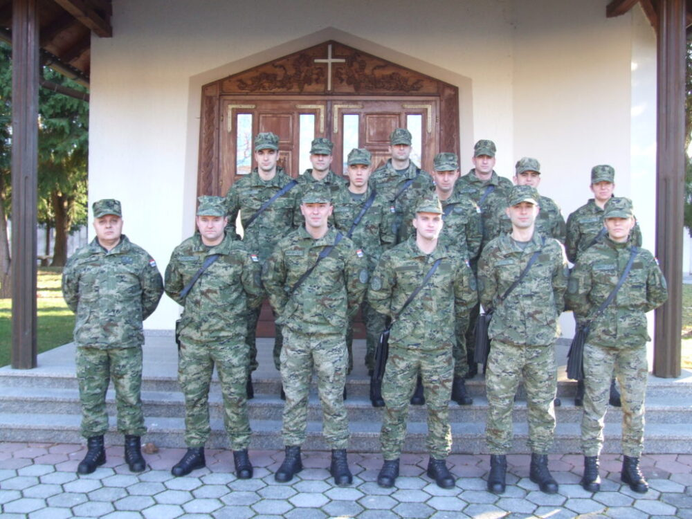 MORH: Obuka 19. naraštaja Temeljne časničke izobrazbe