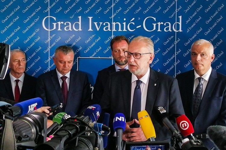 Potpredsjednik Vlade i ministar unutarnjih poslova Božinović na Danu Ivanić-Grada: Projekti idu predviđenom dinamikom