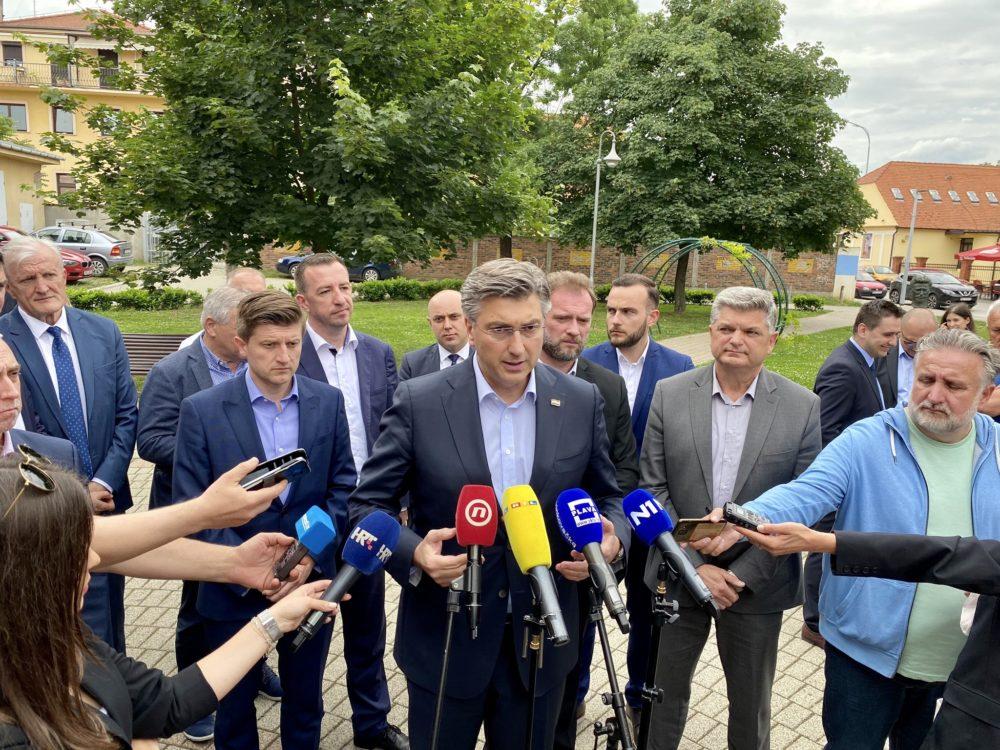 Plenković: Izbori se svode se pitanje – hoće li građani da ih vodim ja ili Bernardić