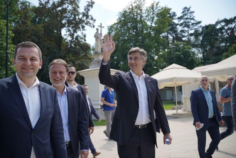 Plenković: Danas je u Hrvatskoj jednak broj zaposlenih kao prije covida