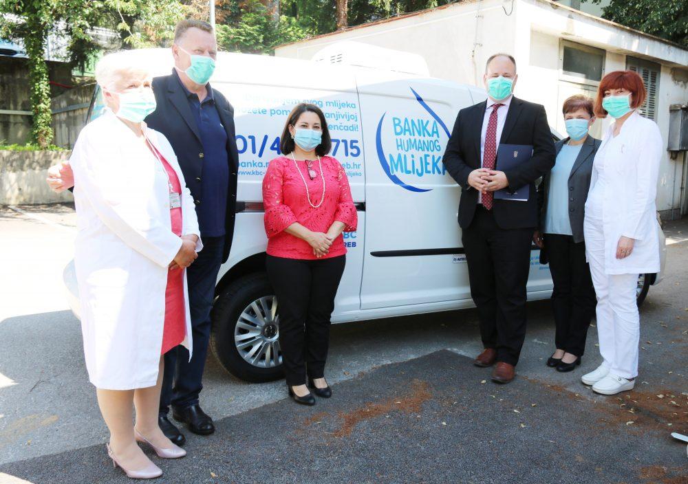UNICEF uručio vozilo Banci humanog mlijeka