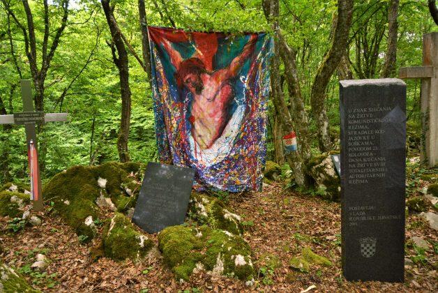 Kod jame Jazovke spomen-pohod za žrtve jugoslavenskog komunističkog režima