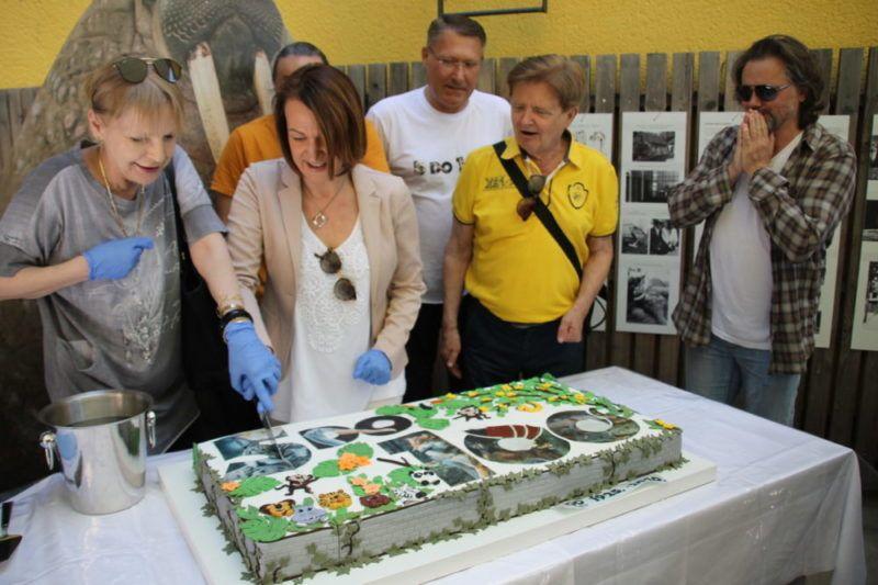 (FOTO) Zagrebački ZOO slavi 95. rođendan i prvi rođendan mravojeda Nosonje