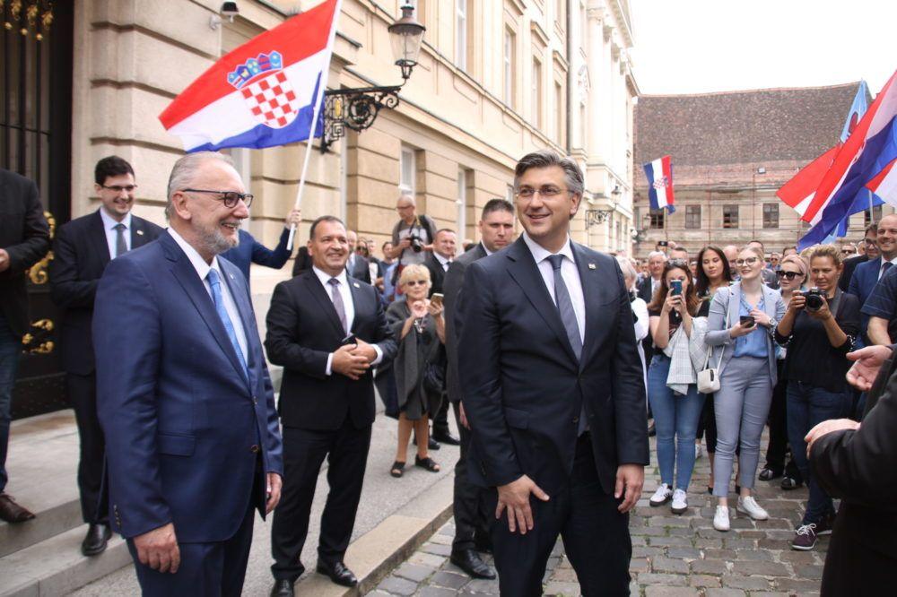 PREDSJEDNIK HDZ-a Plenković: Bizarno da netko tko pretendira voditi Hrvatsku odbije sučeljavanje