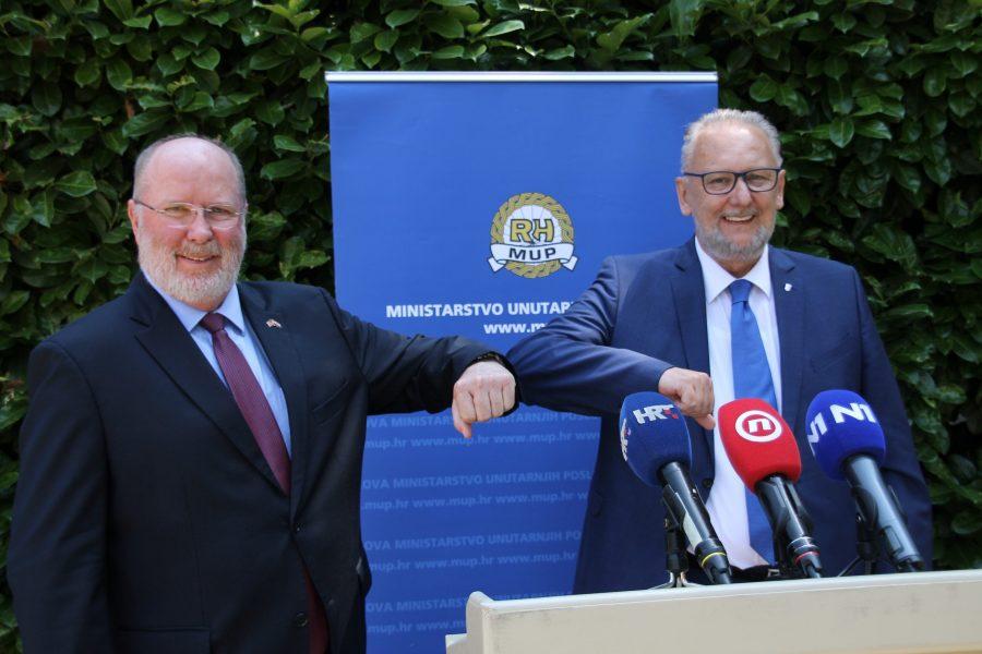 Ministar unutarnjih poslova Božinović: Hrvatska u završnoj fazi izuzeća od viza za SAD