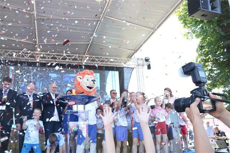 Božinović svečano otvorio Sportske igre mladih u Prelogu