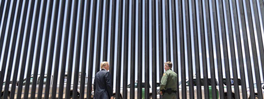 Američki predsjednik Trump obišao zid u Arizoni na granici s Meksikom