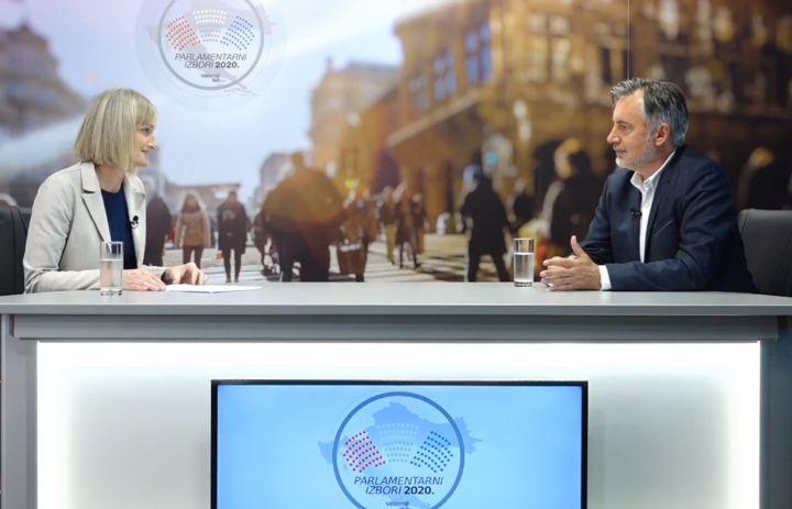 Čelnik Domovinskog pokreta Miroslav Škoro u studiju Večernjeg lista: Mi ćemo napraviti velike stvari