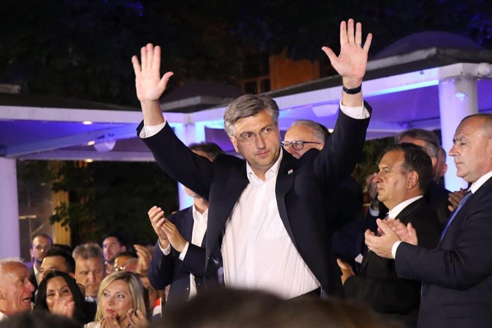 IZBORI 2020 HDZ-u pobjeda u devet izbornih jedinica