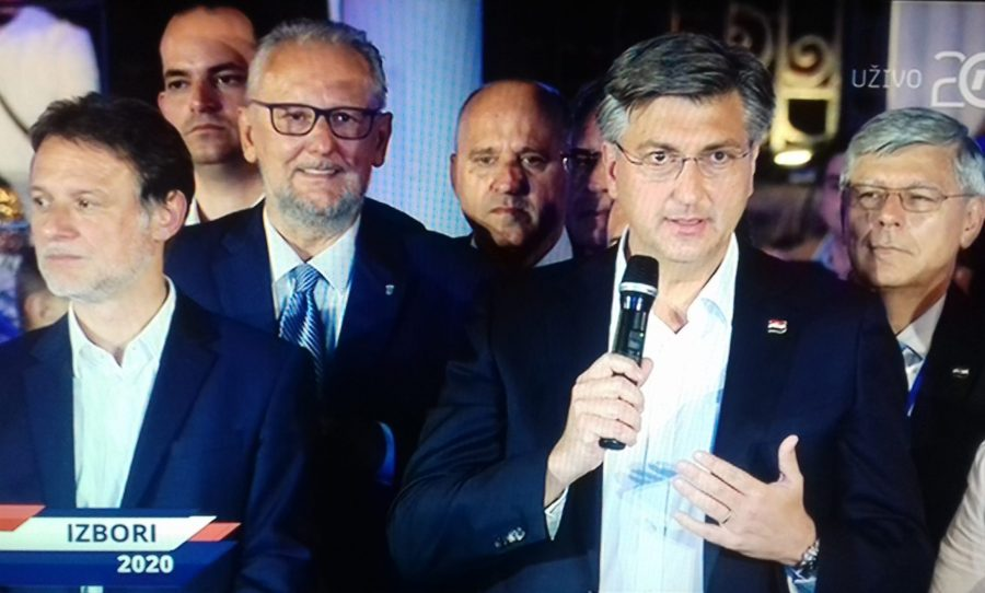 IZBORI 2020 Plenković: Pobjeda na izborima ogromna je obveza