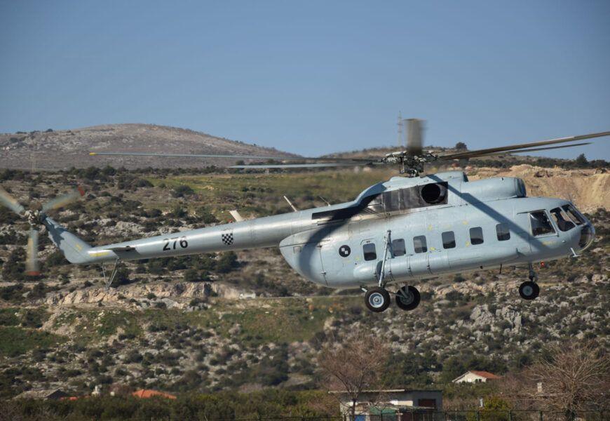 Letačka posada HRZ-a sudjelovala u dvije akcije spašavanja kod Omiša i na Pelješcu