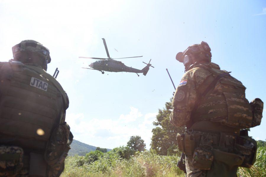 """Međunarodna uvježbavanja: Održana zajednička obuka hrvatske i američke vojske u sklopu aktivnosti """"Chimera Ruin"""""""