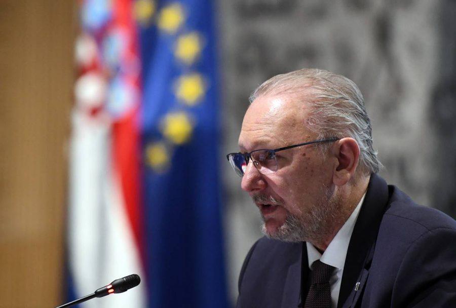 Ministar unutarnjih poslova Božinović izvijestio je o najnovijim aktivnostima Stožera civilne zaštite Republike Hrvatske