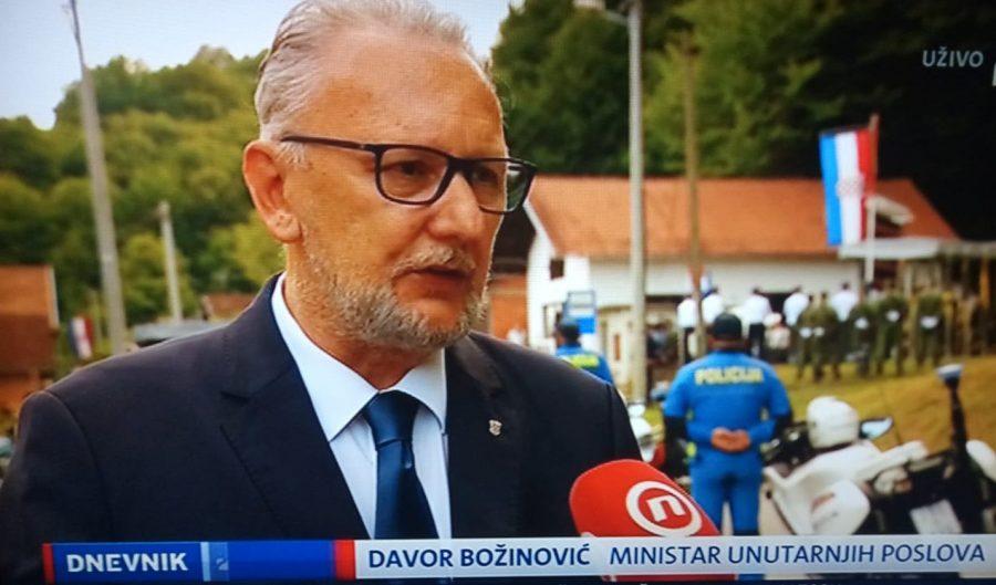 Božinović za Novu TV: Čude me riječi predsjednika Milanovića, mjere ovise o situaciji