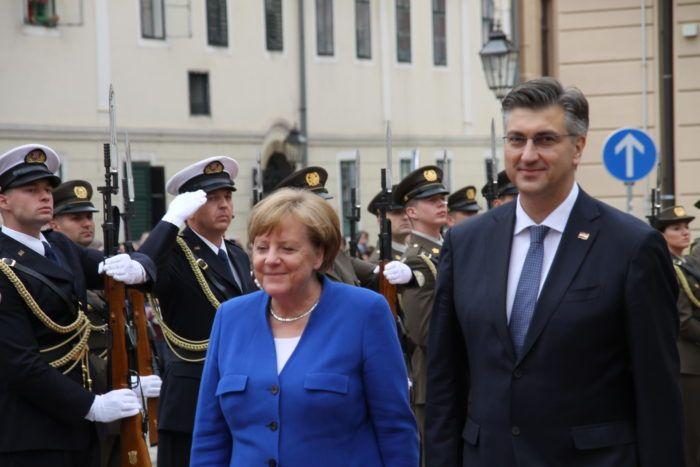 Merkel pohvalila hrvatsko predsjedanje istaknuvši rezultate u proširenju EU-a