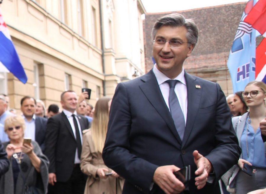 Predsjednik HDZ-a Plenković: Ovakav rezultat nas obvezuje