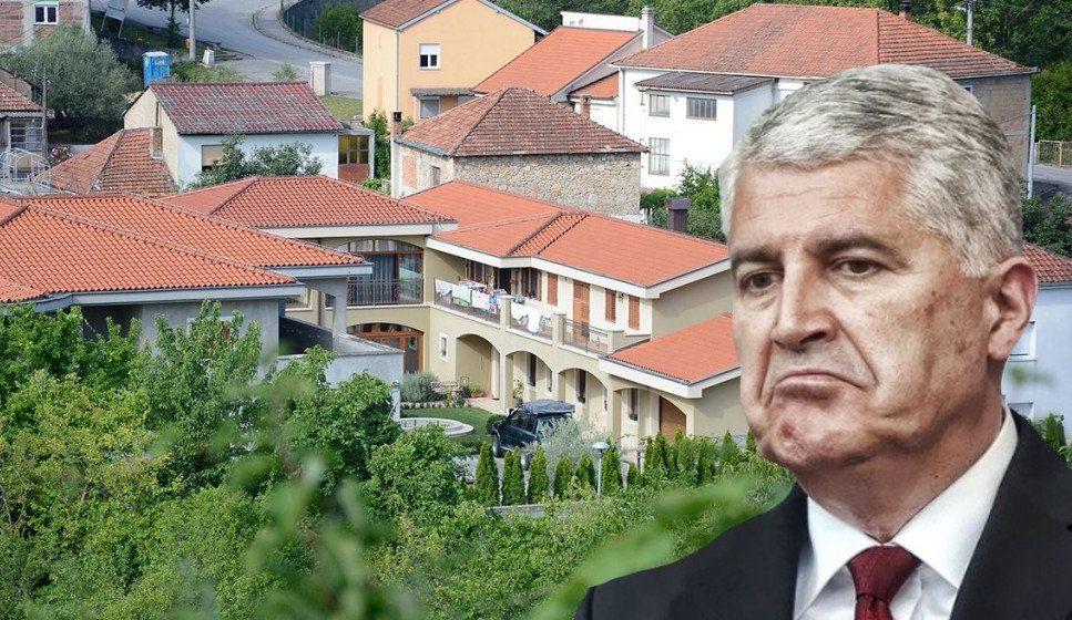 Predsjednik HDZ-a BiH Dragan Čović oteo gradsko šetalište u Mostaru koje je danas dio njegovog dvorišta