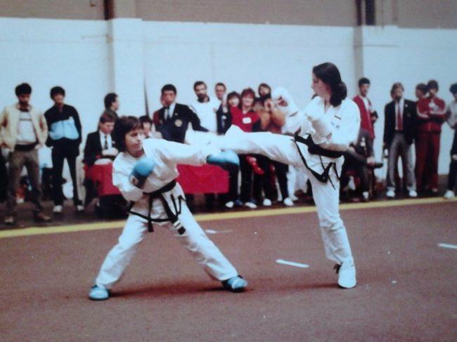 U IV. policijskoj postaji Maksimir radi jedna od najboljih hrvatskih taekwondo sportašica svih vremena