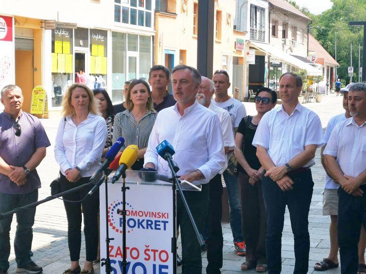 Škoro u Sisku: Na izborima dominiraju ideološka prepucavanja, a ne interesi građana