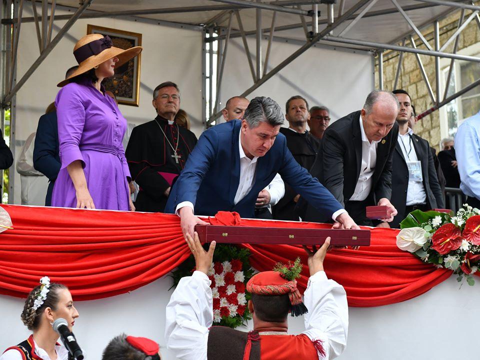 HRVATSKI PREDSJEDNIK Milanović: Sinjska alka je prije svega naša tradicija