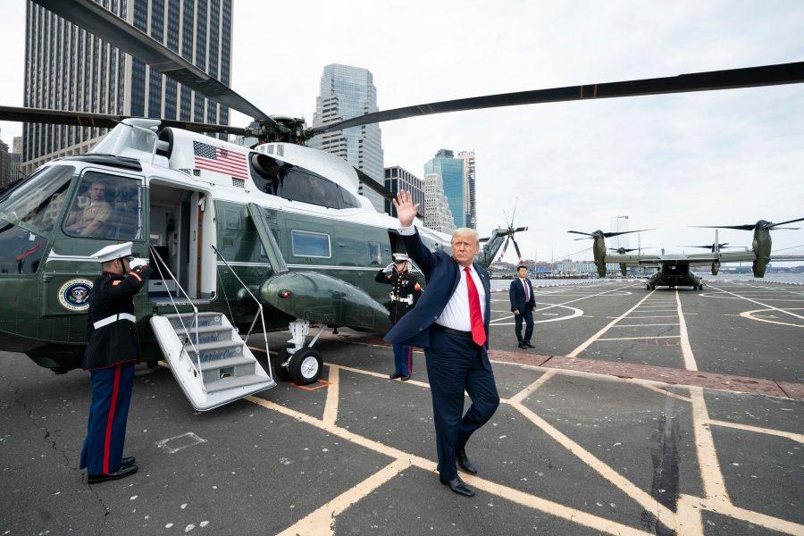 Američki predsjednik Donald Trump ide u utorak u Kenoshu na sastanak sa snagama reda i zakona i pogledati štetu posljedica nedavnih pobuna