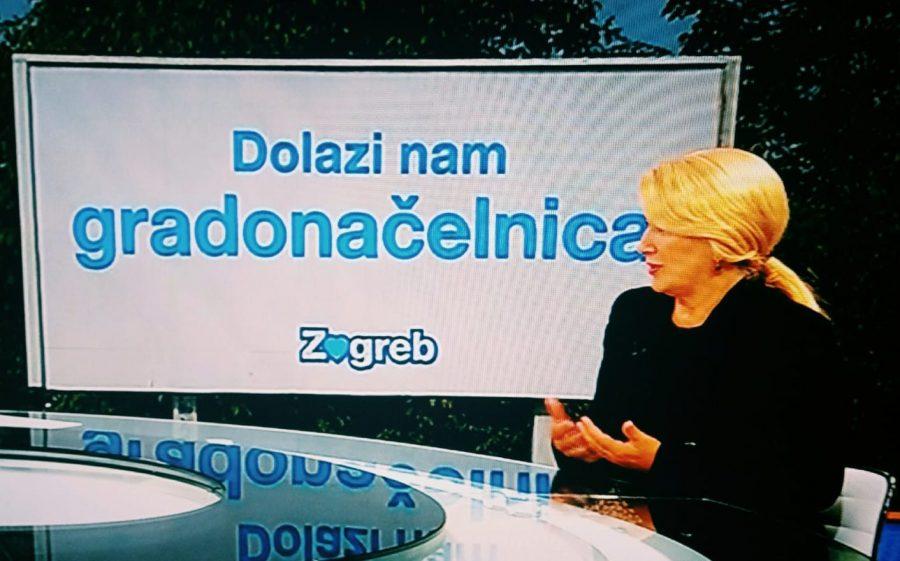 """Vesna Škare Ožbolt u RTL Direktu objasnila zašto želi biti gradonačelnica Zagreba: """"Nakon potresa došle su korona i poplava, koja je pokazala svu jad i bijedu te neorganiziranost i istrošenost Gradske uprave"""""""