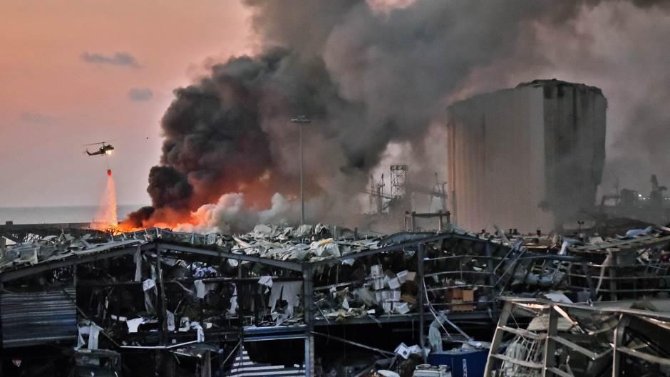 Najmanje 135 mrtvih nakon eksplozije u Bejrutu