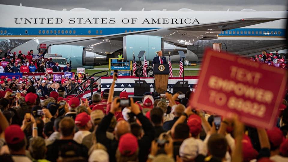 """Američki predsjednik Trump najavio pobjedu u Michiganu: """"Ovako ne izgleda skup čovjeka koji će biti na drugom mjestu"""""""