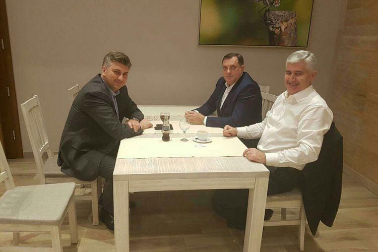 KOJA JE SVRHA POSJETE? Najavljeni susreti Dodika sa Milanovićem i Plenkovićem u Zagrebu za državu Bosnu i Hercegovinu znači ništa!