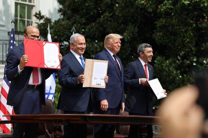 """Izrael u SAD-u potpisao s UAE-om i Bahreinom sporazume koji """"mijenjaju tijek povijesti"""": """"Ovo je zora novog Bliskog istoka, budućnosti gdje će ljudi svih vjera i porijekla živjeti u miru i blagostanju"""""""