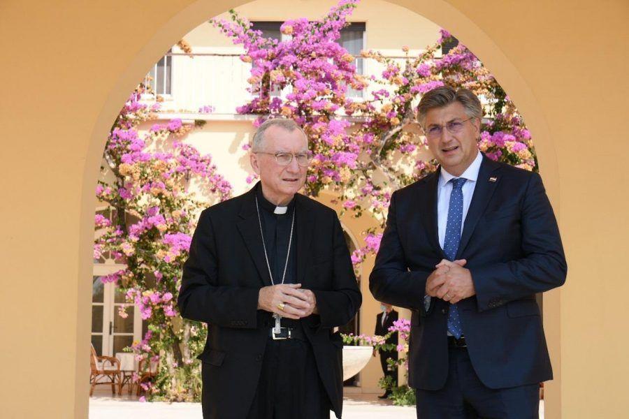 Plenković nakon susreta s vatikanskim državnim tajnikom, kardinalom Parolinom: Jozićevo imenovanje za nuncija u Bjelorusiji priznanje je i Hrvatskoj