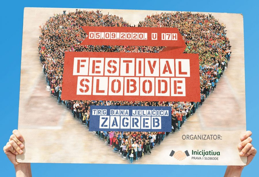 FESTIVAL SLOBODE Sutra okupljanje na zagrebačkom Trgu: Kao i u drugim zemljama svijeta, i u Hrvatskoj su ljudi nezadovoljni nametanjem mjera kojima im se ograničavaju ljudska prava i slobode