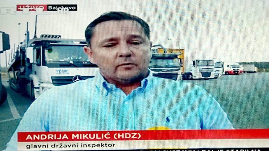 """Glavni državni inspektor Mikulić u RTL-u DANAS o kažnjavanju zbog kršenja korona mjera:  """"Tamo gdje smo mogli išli smo s mjerom upozorenja"""""""
