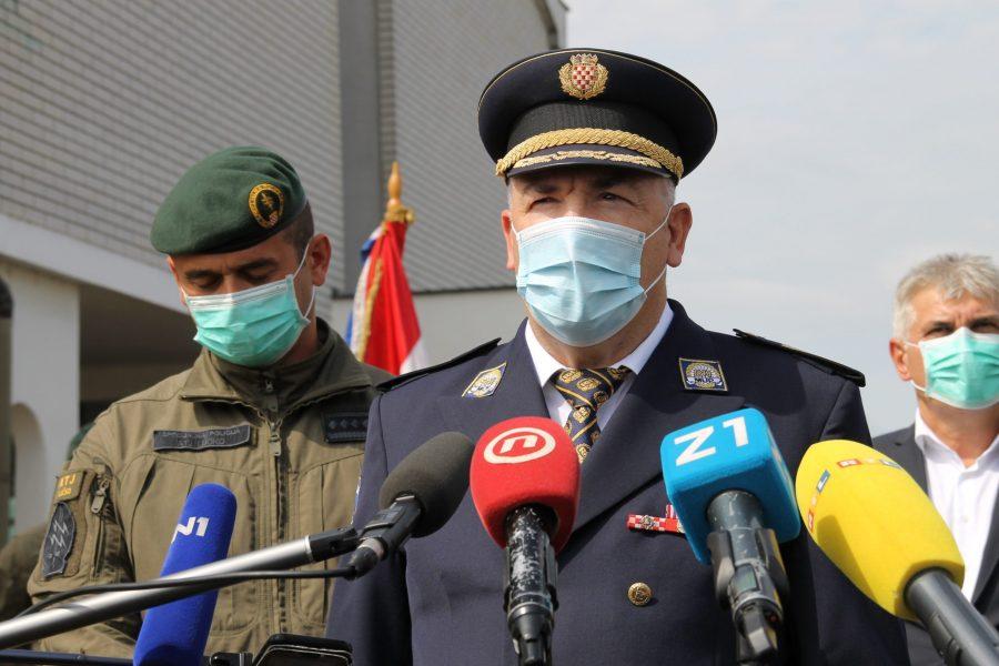 Glavni ravnatelj policije Milina: Policija će pojačati aktivnosti u čuvanju granice u Vinjanima Donjim