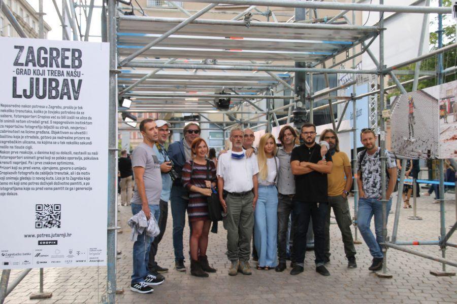 """(FOTO) Otvorena izložba Cropixovih autora fotografija """"Zagreb – grad koji treba našu ljubav"""""""