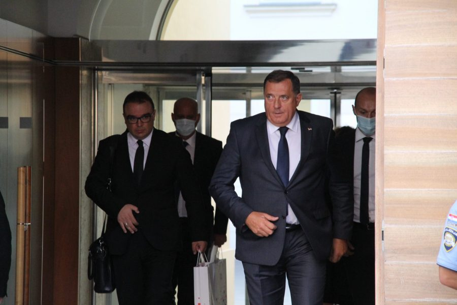 Dodik nakon sastanka s Plenkovićem: Ja ovdje nisam došao da podmećem i da klevećem, već da sugovornike upoznam sa svojim viđenjem situacije u Bosni i Hercegovini