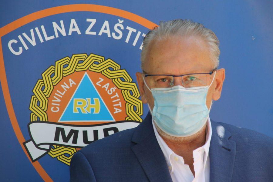 """Božinović komentirao održavanje """"Festivala slobode"""": """"Mi smo demokratska država, ljudi imaju pravo iznijeti svoje mišljenje, ali je važno da se skupodržiuz poštivanje epidemioloških mjera"""""""