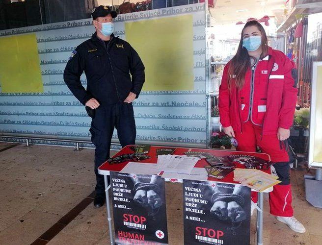 """MUP: Akcija """"Zajedno"""" uz Europski dan suzbijanja trgovine ljudima"""