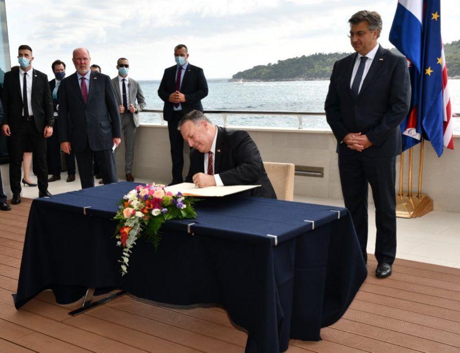 Američki državni tajnik Pompeo: Izbor borbenih zrakoplova suverena je odluka Hrvatske