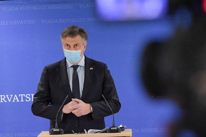 Plenković: Sutra ćemo predstaviti nove mjere, vrijedit će do Božića – Razmatra se mogućnost obveznog cijepljenja