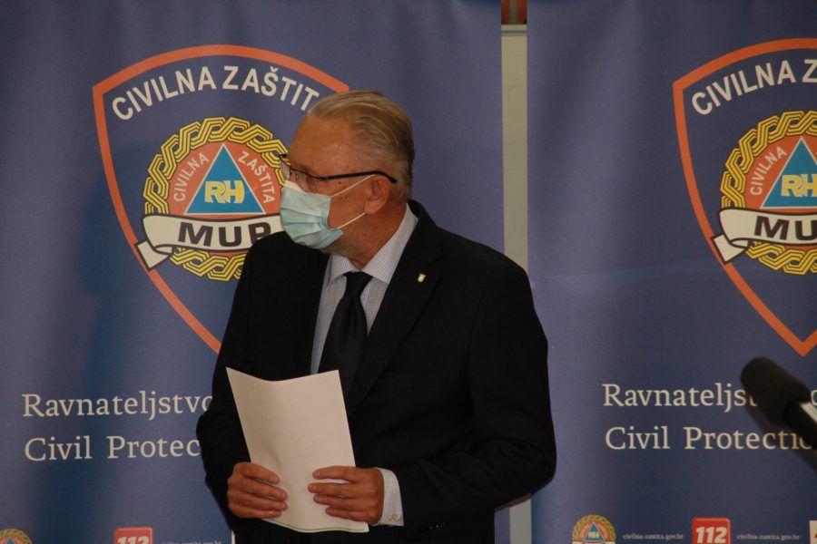 Božinović: Poruke s prosvjeda su izvan pameti i doživjelesu osudu najvećeg dijela hrvatske javnosti