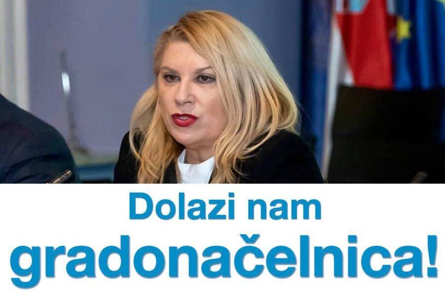VESNA ŠKARE OŽBOLT preuzima teren u Zagrebu: Dolazi podrška mladih i umirovljenika