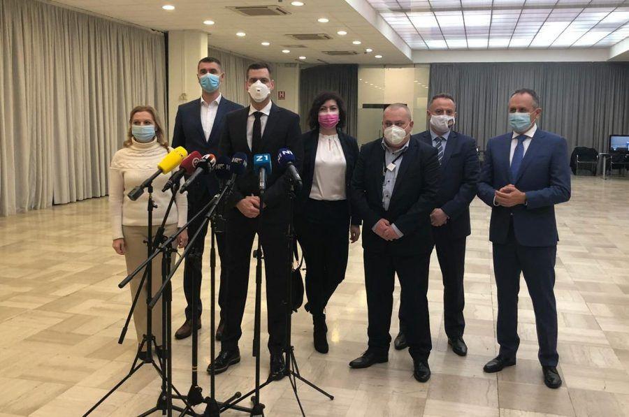 """Novi predsjednik zagrebačke Skupštine Mislav Herman: """"Nalazimo se u izazovnim vremenima i zajedništvo nam je potrebno više nego ikad prije"""""""