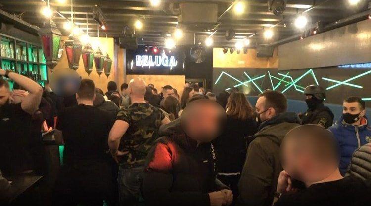 VIDEO: U policijskoj raciji na području Centra Zagreba u ugostiteljskom objektu zatečeno preko 30 osoba, vlasnik kazneno prijavljen