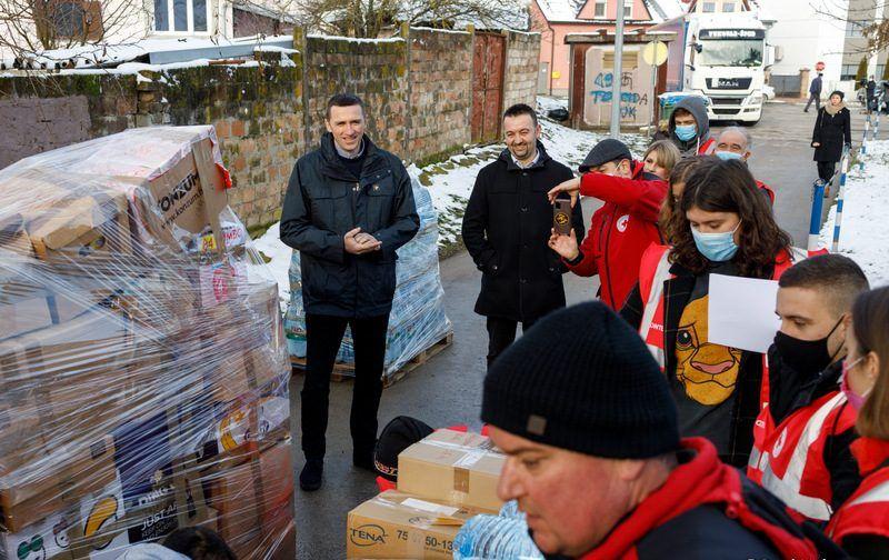 Vukovarci skupili 200.000 kuna vrijednu pomoć za potresom stradalo područje