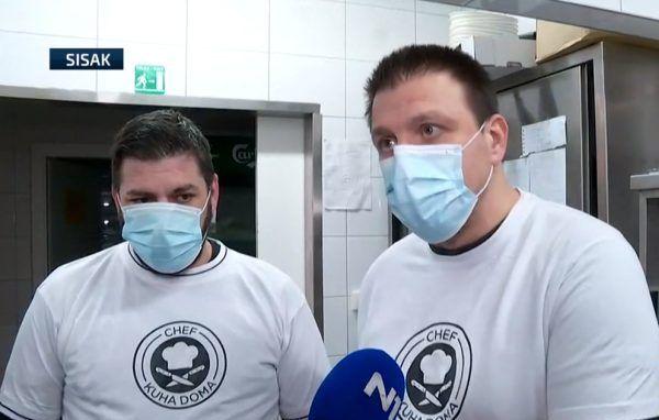 """Chef Mate Janković: Kuhari volonteri odmah su nakon potresa došli na potresom pogođeno područje, no od vlasti su dobili kritike – """"Sustav ne postoji"""""""