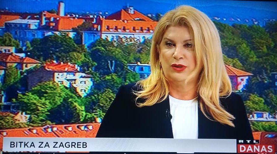 Škare Ožbolt: Ja sam se u kandidaturu uključila isključivo da dobijem ove izbore; 'Uz mene kao gradonačelnicu Zagreba i Vanđelića na čelu Fonda stvari bi se počele mijenjati svjetlosnom brzinom'