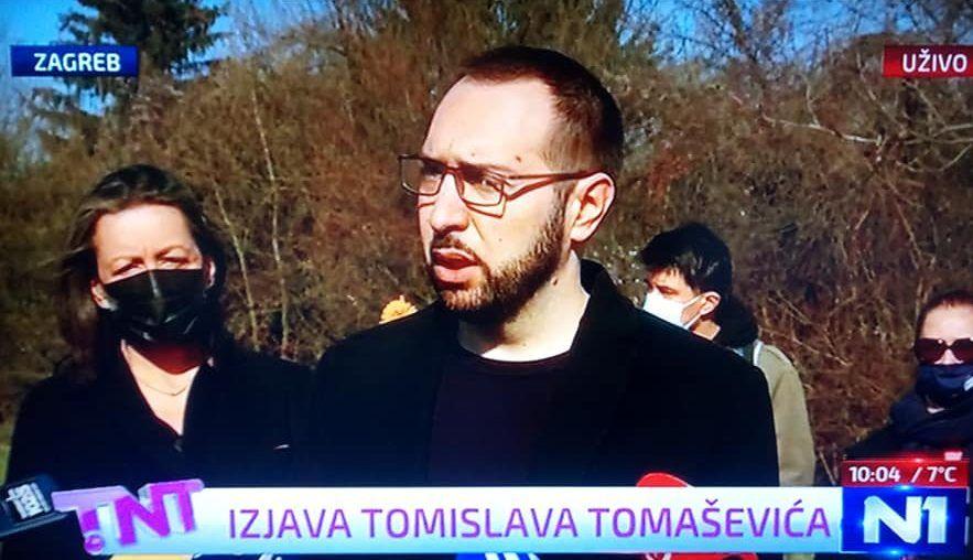 """Tomašević: """"Izražavam sućut obitelji Bandića. Općepoznato je da sam njegov dugogodišnji politički protivnik i žao mi je što se nećemo sučeliti na lokalnim izborima"""""""