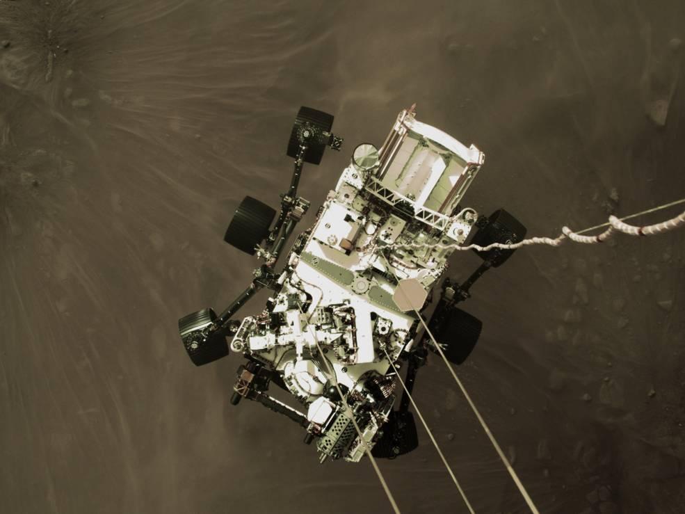 NASA-in rover Perseverance uspješno sletio na Mars