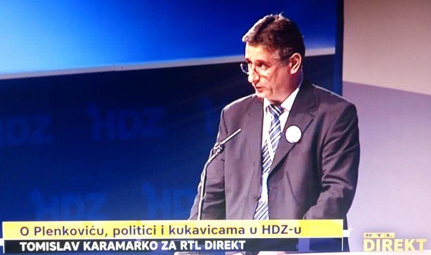 """Tomislav Karamarko: Danas sam dokazao da sam doista štitio interese Hrvatske, """"čitava jedna mašinerija bila pokrenuta u smjeru mog rušenja, dakle rušenja izvjesnog broja politika koje sam ja provodio kroz stranku s kojom sam pobjeđivao četiri godine"""""""